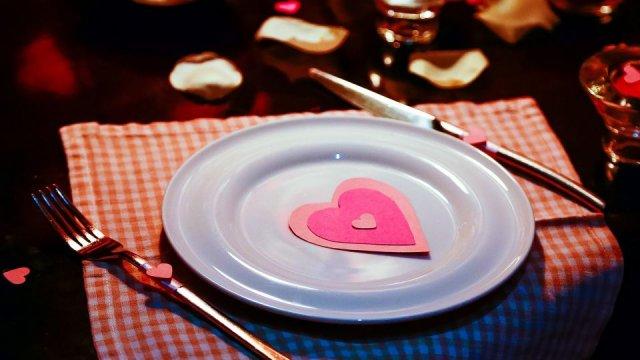Svatý Valentýn aneb romantická večeře na doma