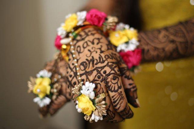 Svatba po indicku