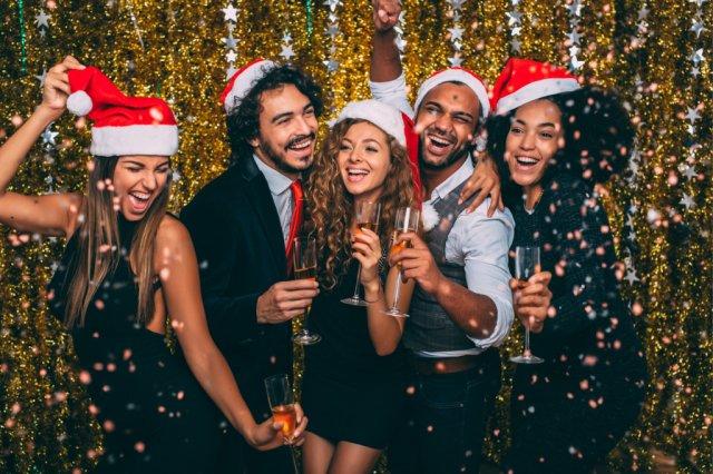 Vánoční večírek ve velkém stylu