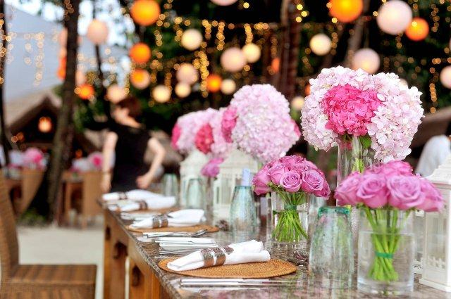 Svatební hostina jako zlatý hřeb svatebního dne