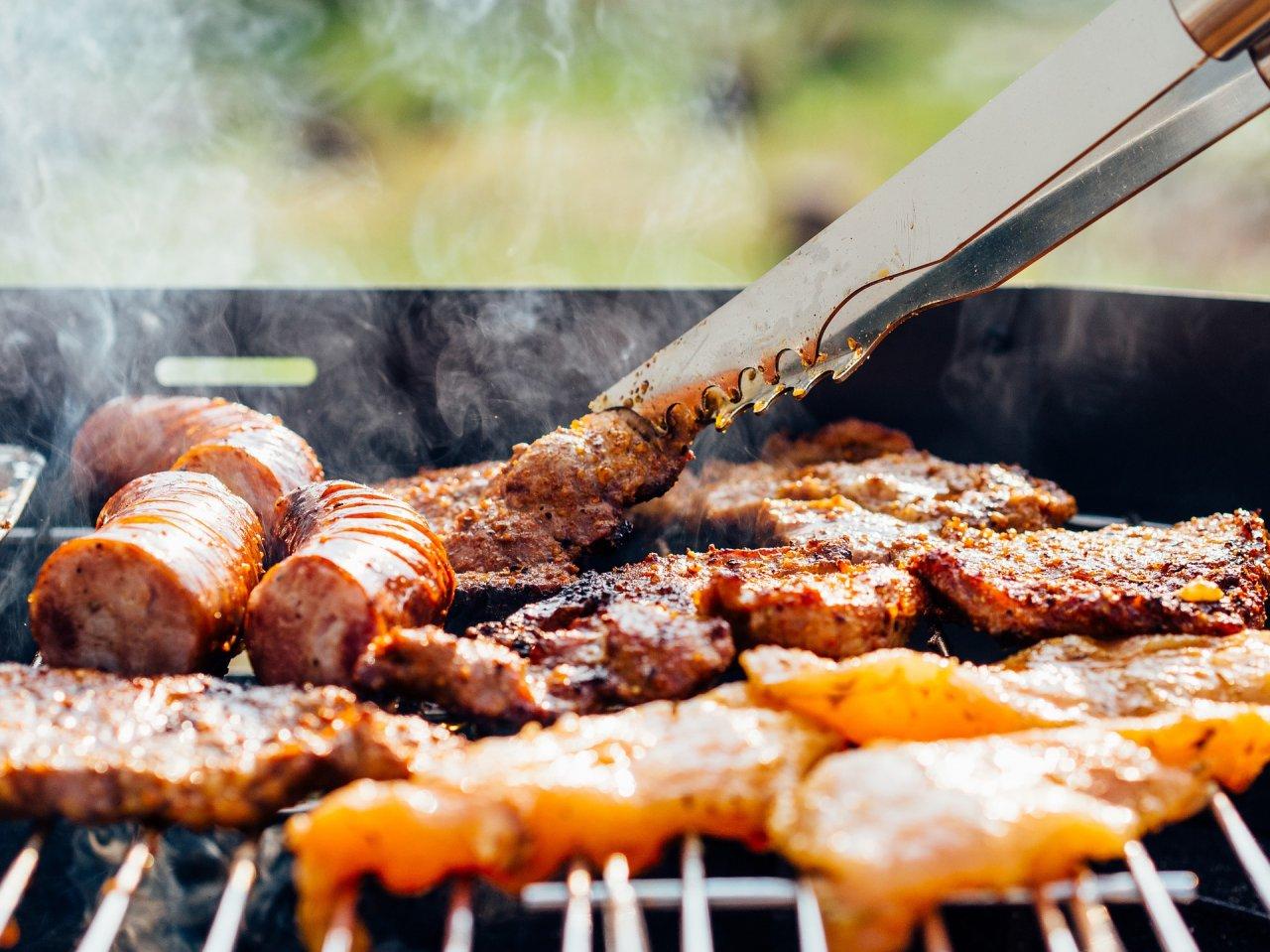 Letní jídla z grilu