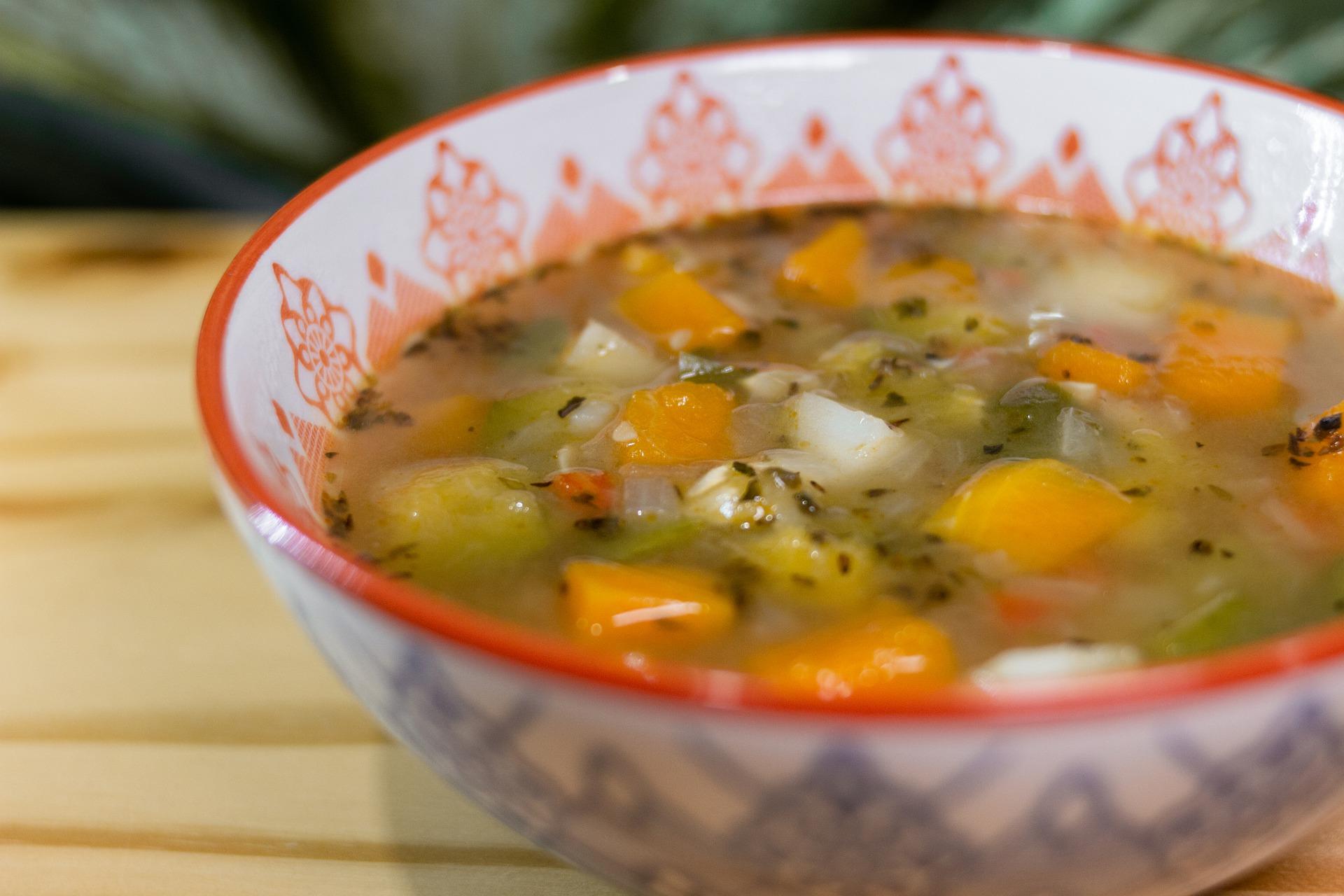 Venkovská kuchyně - polévka