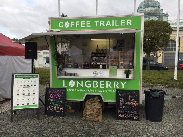 Longberry - mobilní kavárna