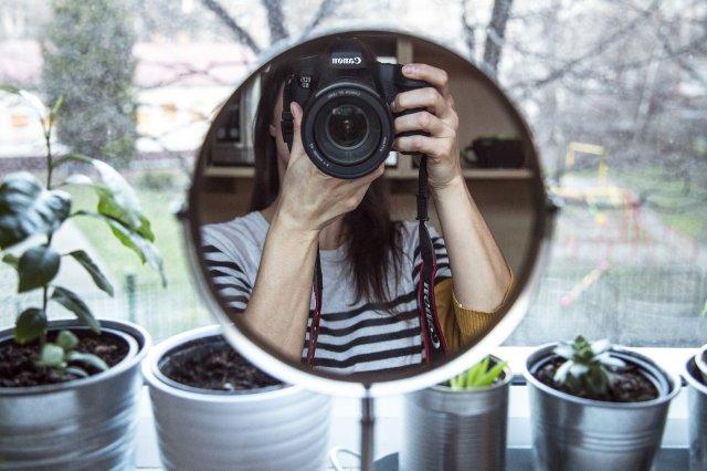 Jak fotit autoportrét