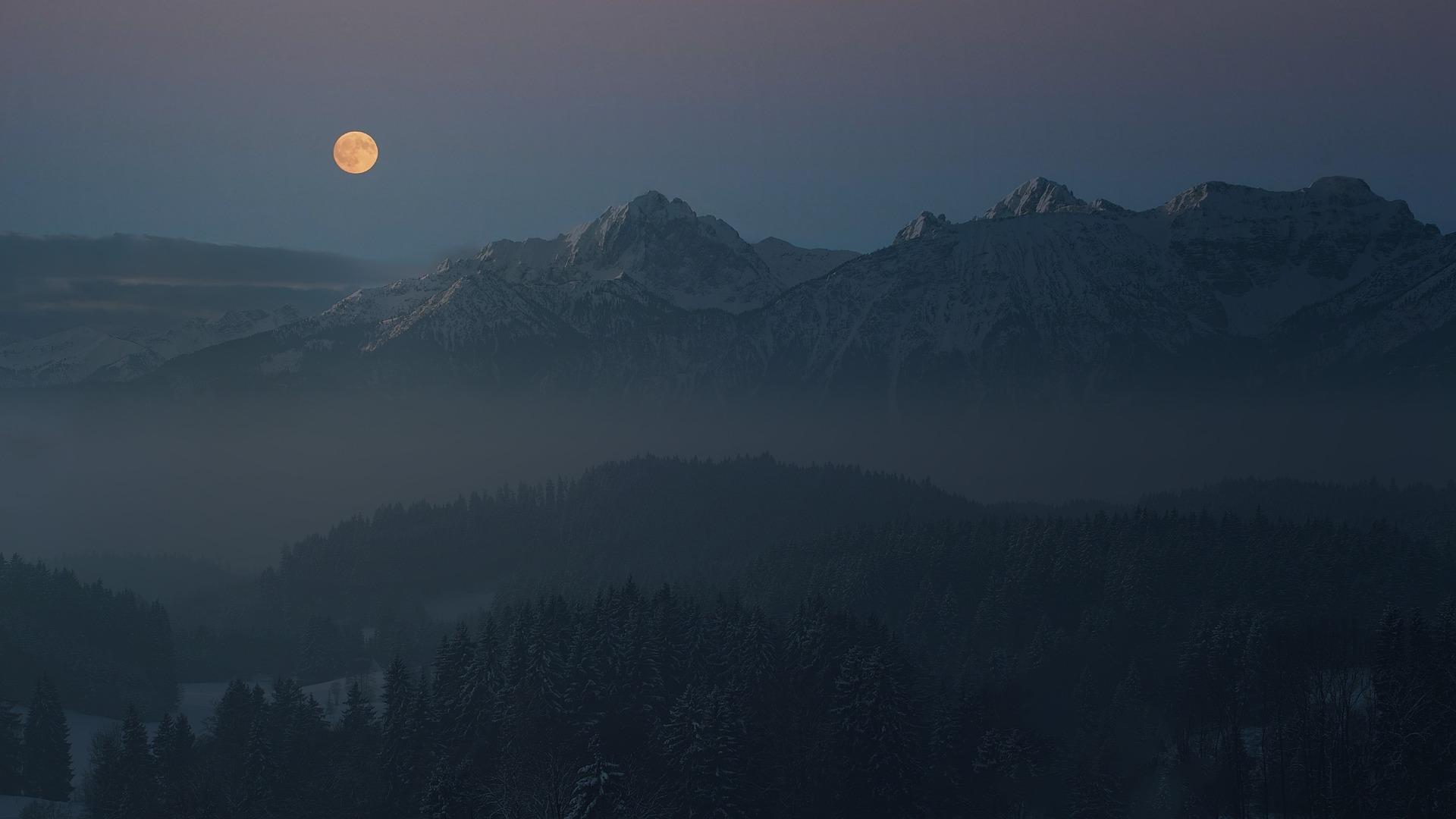 Jak fotit noční oblohu - Měsíc