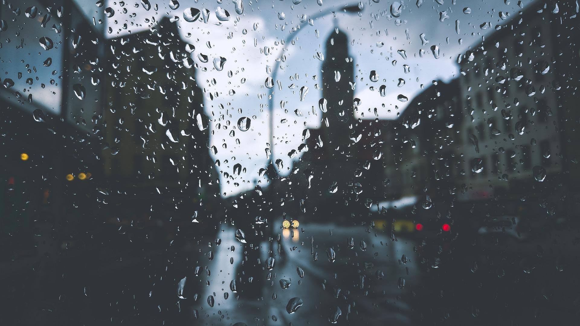 Jak fotit v dešti